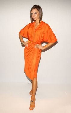 "The ""Orange You Glad I Wore This"" Dress"