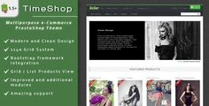 Download TimeShop - eCommerce PrestaShop Theme (PrestaShop) or Buy cheap Free and paid
