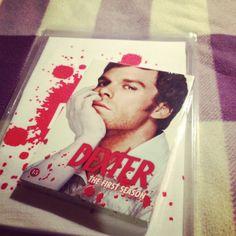 Dexter season 1 & Dexter t-shirt :)