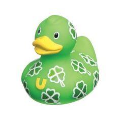 Bud Mini Rubber Duck Bath Tub Toy--Irish