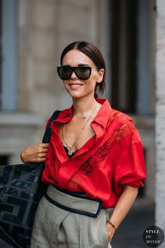 Haute Couture Herbst / Winter 2018/19 Street Style: Evangelie Smyrniotaki - #Couture #Evangelie #Haute #Herbst #Smyrniotaki #Street #Style #Winter