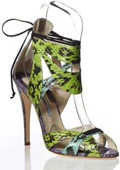 COLLECTION : Brian Atwood Spring 2013 Footwear Collection ~ Glowlicious