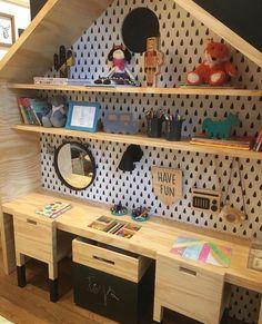 Baby Bedroom, Baby Room Decor, Girls Bedroom, Bedroom Ideas, Bedroom Decor, Toy Rooms, Big Girl Rooms, Kids Room Design, Kids Corner