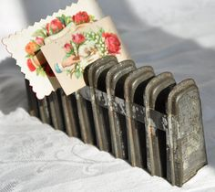 Antique Rare Primitive Tin Popcicle Mold by thoughtfulbrenda, $50.00