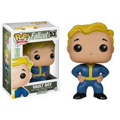Vault Boy | Pop! Games: Fallout, Skyrim, and Elder Scrolls Online! | Funko