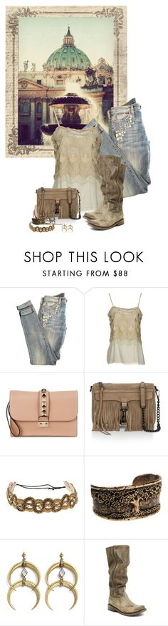 """casual escape"" by summersdream ❤ liked on Polyvore featuring Current/Elliott, Erika Cavallini Semi-Couture, Valentino, Rebecca Minkoff, Deepa Gurnani, A Peace Treaty, Steve Madden and Alexis Bittar"