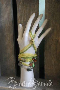 Gypsy bracelet/Bohemian bracelet/Boho bracelet/wrap bracelet/bohemain anklet/Boho anklet by ZantiKamala on Etsy