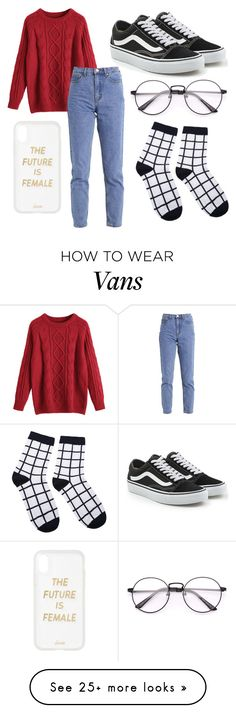 """Christmas"" by liljmac on Polyvore featuring Lost Ink, Vans and Sonix"