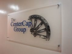 Custom acrylic capital firm office panel sign in New York, NY. We specialize in custom office signs in New York, NY. Visit our website below to contact us for a free consultation!  http://www.SignsVisual.com