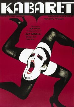 Cabaret | 45 Amazing Vintage Polish Posters Of Classic American Films