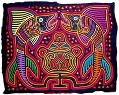 panamanian art - Google Search-this is really reverse applique