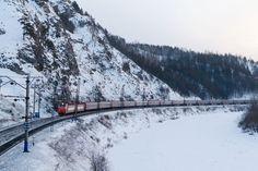 Vista da Transiberiana (foto: Russian Railways;/Divulgação) - Fornecido por Viagem em Pauta