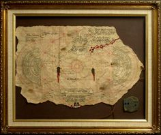 THE GOONIES:according to.Sean Astin he was allowed to keep the treasure map used in the film. several years later his mother discovered; though it was just a crinkled piece of paper and threw it in the trash.