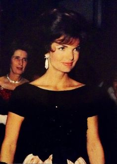 Jacqueline wearing her diamond waterfall, convertible earrings