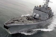 French Marine Nationale anti-submarine frigate Primauguet.