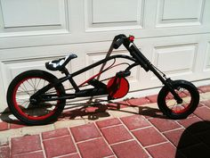 Custom kids' bike chopper in Australia
