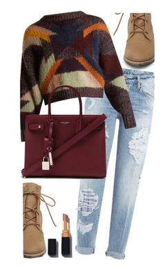 """Untitled #195"" by fashvibe ❤ liked on Polyvore featuring Steve Madden, Dsquared2, Isabel Marant and Yves Saint Laurent"