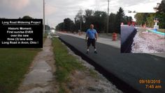 """Long Road Widening Project"" watershed moment: First sunrise over a ""Long Road"" that has been widened & paved to three (3) lanes. - at 3450 Long Rd in Avon, Ohio.  FB post here:  https://www.facebook.com/frenchcreekmedical/photos/a.110774048977087.28284.107833115937847/885846501469834/?type=1&theater"