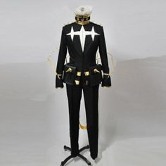 Kill La Kill Cosplay Houka Inumuta Costume Uniform Suit Full Set Well Designed