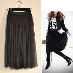 Charm Ladies Maxi Skirt Comfort Wild Chiffon Cotton Long Dresses Collection | eBay