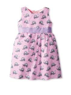 Baby Dress, Pink Dress, Cute Little Girls Outfits, Elephant Print, Empire, Kids Fashion, Summer Dresses, Grosgrain, Clothes