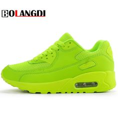 BOLANGDI Newest Spring Autumn Running Shoes For Outdoor Comfortable Brand Women Sneakers Men Breathable Sport Shoes Size runs Running Sneakers, Running Shoes For Men, Air Max Sneakers, Sneakers Nike, Moda Sneakers, Plein Air, Courses, Women's Pumps, Sneakers Fashion