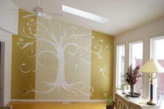 painting a family tree | ARSLAN PAINTS OKARA: tree on wall paint