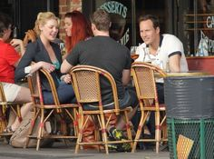 Patrick Wilson Photos Photos - Actors Katherine Heigl and Patrick Wilson out for lunch with a friend at the Figaro Cafe in Los Feliz, California on February 15, 2013. - Katherine Heigl And Patrick Wilson Out For Lunch In Los Feliz