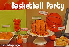 Snack ideas for bball party