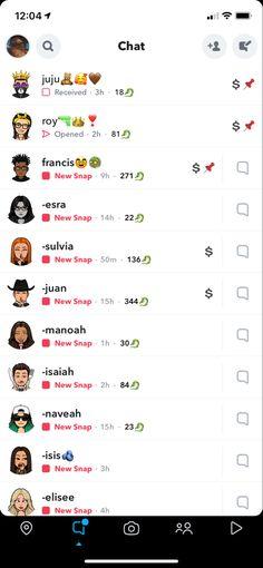 Snapchat Friend Emojis, Snapchat Names, Bestfriends, Bff, Snap Streak, Aesthetic Girl, Clever, Hacks, Let It Be