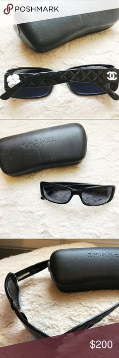 Chanel Sunglasses  With case! Great condition, case is a little worn.  Chanel 5111 CHANEL Accessories Sunglasses