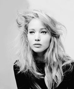 Jennifer Lawrence Monochrome