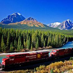 Canadian Rocky Mountain Parks: Banff, Jasper, Yoho (UNESCO, 1000 Places) - British Columbia and Alberta, Canada