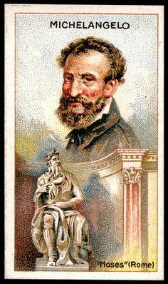 Cigarette Card - Michelangelo | Flickr - Photo Sharing!