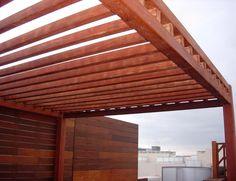 Diseño e Instalación de Pérgolas de Madera