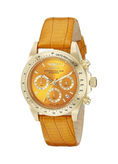 Invicta Women's 18376 Speedway Analog Display Japanese Quartz Orange Watch ** Check out this great watch.