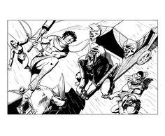 Kifaru vs Prince. Rhino vs giant gorilla.