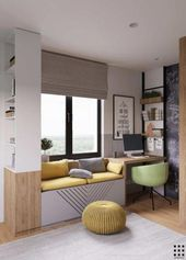 A very cozy apartment in Belarus Vibrant colors Photo Gallery ., colour photogallery movie life apartment belarus colors colour gallery photo vibrant DecorationBureau cozyapartmentdecor A very cozy apartment in Belarus Vibrant colors Photo Galler Small Space Design, Kids Room Design, Home Office Design, Home Office Decor, Home Design, Small Spaces, Home Decor, Design Ideas, Small Office Decor