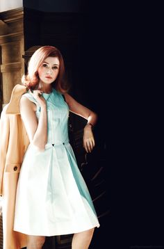 bobs and a line dresses <3 very Nancy drew if you ask me :)