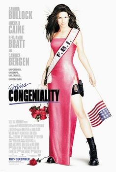Miss Congeniality (2000) Donald Petrie con Sandra Bullock, Michael Caine, Benjamin Bratt, Candice Bergen, William Shatner.