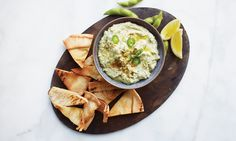 Edamame-hummus (Paid Post by Chobani From NYTimes.com)