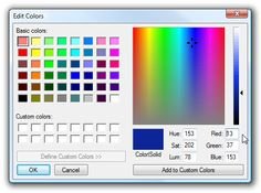 Stupid Geek Tricks: Figure Out HTML Color Codes from Decimal RGB Colors (Like MS Paint Uses) - How-To Geek Old Computers, Aesthetic Images, 90s Aesthetic, Eye Strain, Pics Art, Vaporwave, Basic Colors, Mood Boards, How To Introduce Yourself