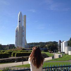 La fusée Ariane / Ariane rocket © crisss - Instagram #visiteztoulouse #toulouse