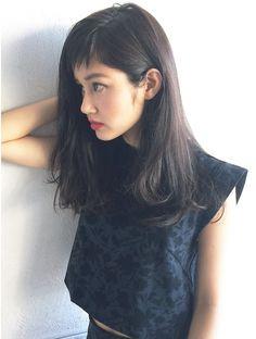 アルバム シブヤ(ALBUM SHIBUYA)とろみふんわりワンカールロング_71062