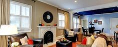 Using Rugs to stage a home.  http://virtuallystagingproperties.com/rugs-to-the-rescue-when-staging-a-home/