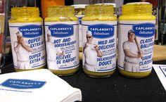 celebrity food product - Caplansky Mustard