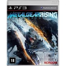 Game Metal Gear Rising – Xbox 360 Ou PS3 Por R$ R$ 1,99