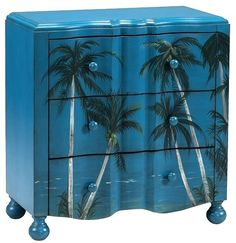 Enjoy a serene beach scene, beautiful sea life or a sentiment with art furniture. Painted dressers and chests by Gail's Accents, Coast to Coast Imports and Pulaski Furniture are available . Read Beachy Styled Dressers and Chests Beach Furniture, Art Furniture, Painted Furniture, Painted Dressers, Furniture Market, Coastal Furniture, Furniture Online, Furniture Plans, Furniture Makeover