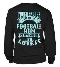 Tough Football Mom  #image #shirt #gift #idea #hot #tshirt #idea