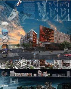 Concept Board Architecture, Architecture Presentation Board, Architecture Panel, Architecture Visualization, Architecture Graphics, Urban Architecture, Architecture Portfolio, Presentation Boards, Planer Layout